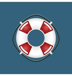 Lifebuoy Travel Concept vector