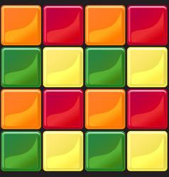 Multicolor tiles texture seamless vector