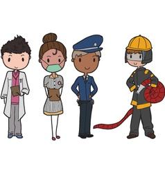 Public services vector