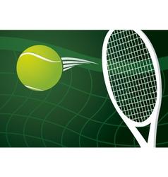 Tennis background design vector