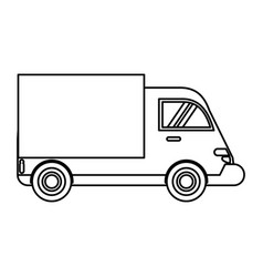 Truck delivery transport image vector