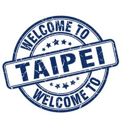 Welcome to taipei vector