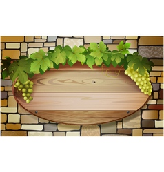 grape banner vector image vector image