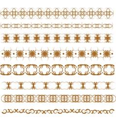 graphic border vector image vector image