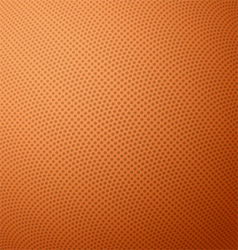 Basketball texture with bumps vector