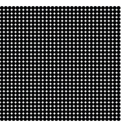 Black and white texture of small circles vector