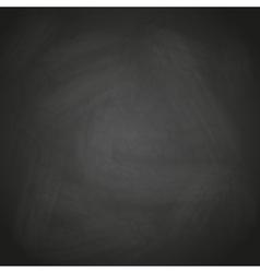 empty retro black chalkboard background eps10 vector image