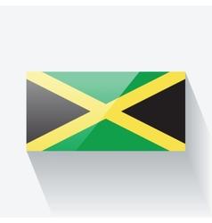 Flag jamaica vector