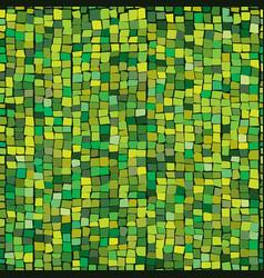 green ceramic tile mosaic seamless pattern vector image