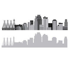 Kansas-city-skyline vector