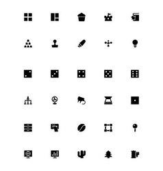 Mini Icons 14 vector image