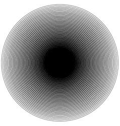 Ripple circle halftone background pattern vector