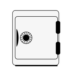 Safe box icon image vector