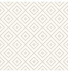 Seamless retro polka dot pattern vector