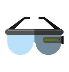 smart glasses icon image vector image