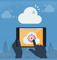 Spam cloud computing vector