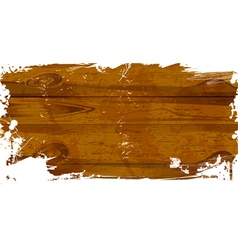 wood grunge vector image