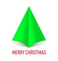MERRY CHRISTMAS Corner paper 14 vector image vector image