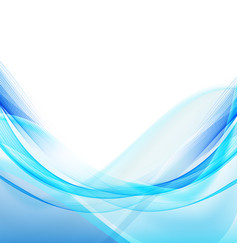 Abstract blue wave background blue wave business vector