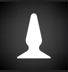 anal bung icon vector image vector image