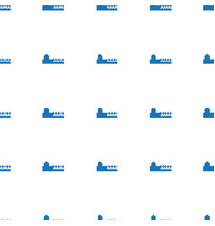 Avenue icon pattern seamless white background vector