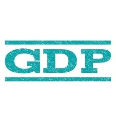 GDP Watermark Stamp vector