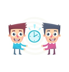 joint management of time vector image