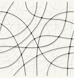 monochrome abstract seamless pattern voluminous vector image