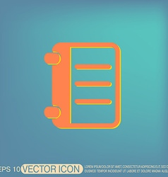 phone address book vector image