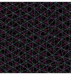 Seamless pattern looks like interweaving of the vector