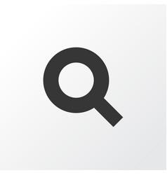 Search icon symbol premium quality isolated vector