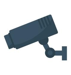 surveillance camera icon image vector image