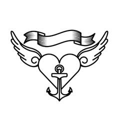 Tattoo drawings design vector