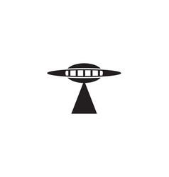 ufo logo vector image