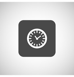 Watch clock icon time timer vector