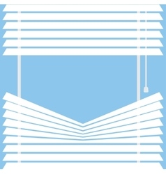 watching through the blinds vector image
