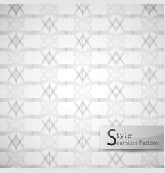 Abstract seamless pattern flower lotus lattice vector