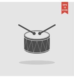 Drum Icon Flat vector image