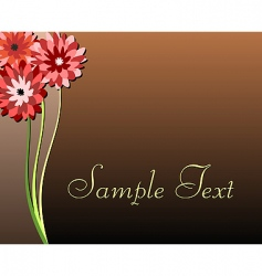 illustration of luxurious invitation card vector image
