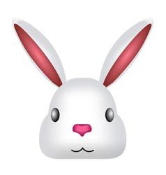 avatar of a cute rabbit vector image