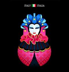 Matryoshka Italy vector