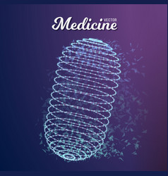 Medicine pill vector