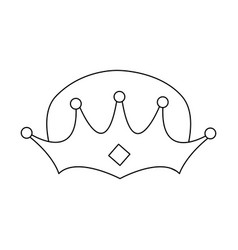 wise man crown epiphany design vector image