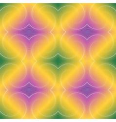 Design seamless colorful diamond geometric pattern vector image