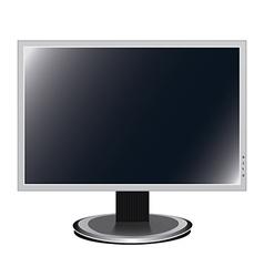 Monitor - screen vector image