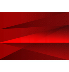 red abstract background triangle and straight line vector image