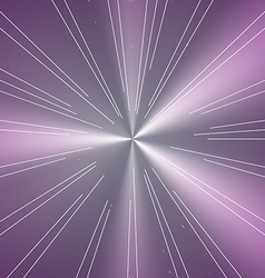 Abstract Colorful Shine Tunnel Background vector image