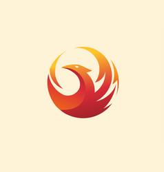 Phoenix circle vector