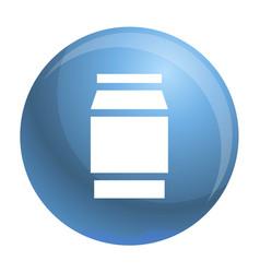 Polycarbonate jar icon simple style vector