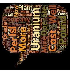 Safest Ways To Invest In Uranium Companies text vector image